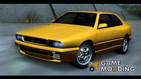 Maserati Ghibli II Cup (AM336) 1995 [ImVehFt] для GTA San Andreas