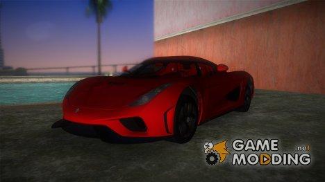 Koenigsegg Regera 2015 для GTA Vice City