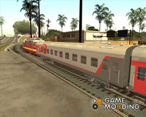 Плацкартный вагон РЖД for GTA San Andreas