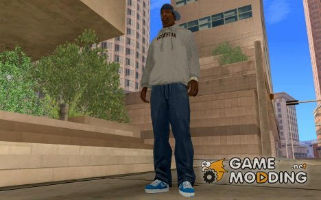 Air Force 1 blue withe для GTA San Andreas