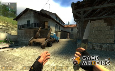 First Knife Model CSK для Counter-Strike Source