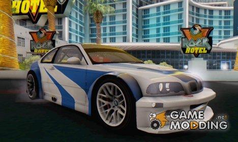 BMW M3 E46 GTR v2.0 для GTA San Andreas
