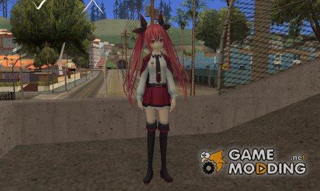 Itsuka Kotori (Date A Live) для GTA San Andreas