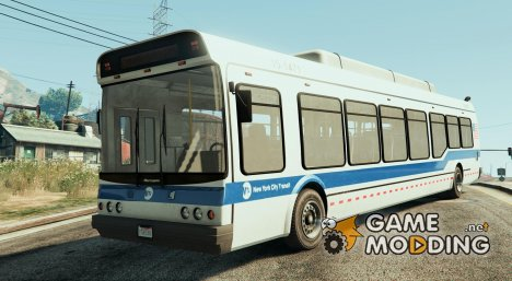 New York City MTA Bus для GTA 5