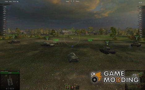 Облегченные прицелы (снайперский,арт,аркадный) for World of Tanks