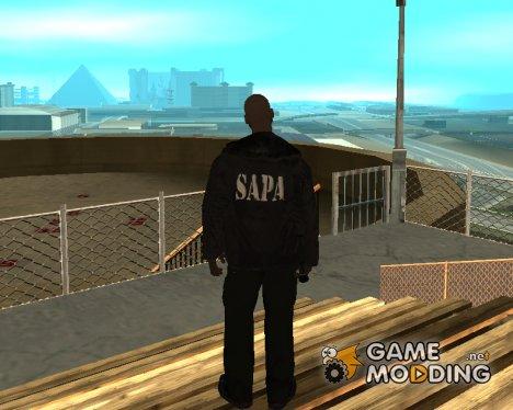 SAPA HQ Skin for GTA San Andreas