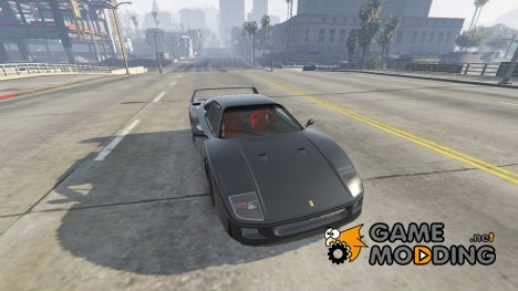 1987 Ferrari F40 1.0 for GTA 5