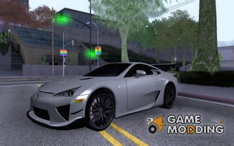 Lexus LFA Nürburgring Edition for GTA San Andreas