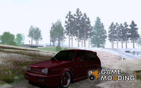 VW Golf Mk2 VR6 Custom for GTA San Andreas