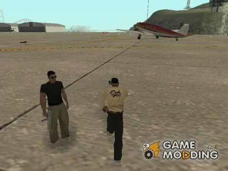 Пак новых скинов банд for GTA San Andreas