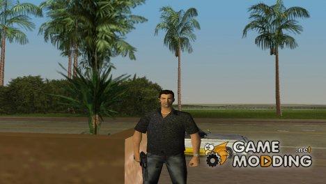 Том в кожаной одежде для GTA Vice City