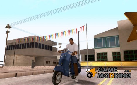 Vespa 180 Supersport для GTA San Andreas