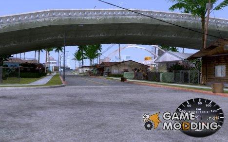 Спидометр от Таврии для GTA San Andreas