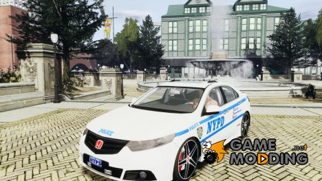 Honda Accord Type R NYPD (City Patrol 2322) for GTA 4