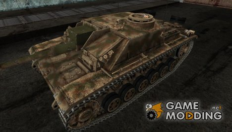 StuG III 25 for World of Tanks