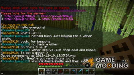 ChatLog for Minecraft