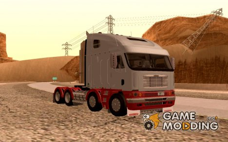 Freightliner Argosy 8x4 for GTA San Andreas