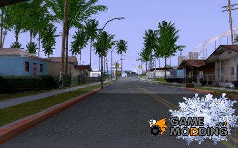 Нормальный новогодний спидометр for GTA San Andreas