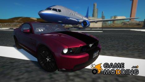 2010 Ford Mustang GT SVT Rims for GTA San Andreas