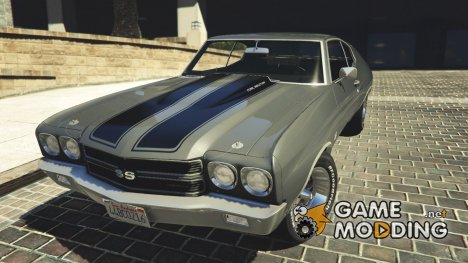 1970 Chevrolet Chevelle SS v1.1 for GTA 5