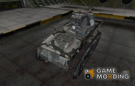 Шкурка для немецкого танка Leichttraktor для World of Tanks