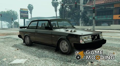 Volvo 242 BiTurbo 1.2 for GTA 5