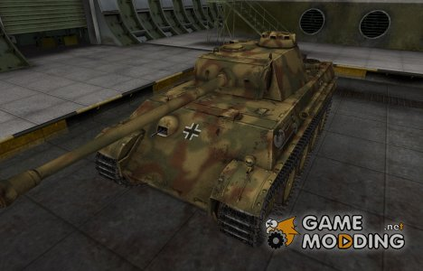 Немецкий скин для PzKpfw V Panther for World of Tanks