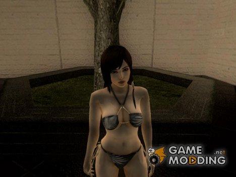 Sexy Kokoro wearing bikini for GTA San Andreas