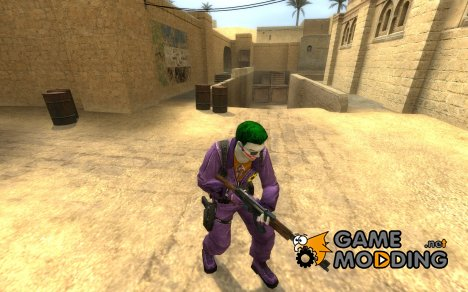 The Joker для Counter-Strike Source