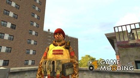 Солдат SMG КНР for GTA 4