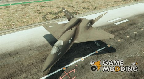 McDonnell Douglas YF-23 1.2 for GTA 5