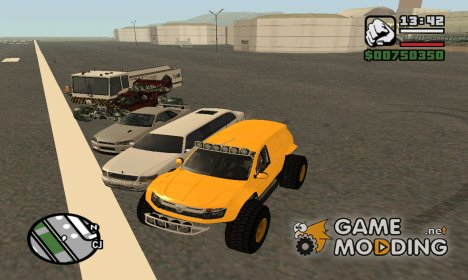 Авто-пак (XsevasX) для GTA San Andreas
