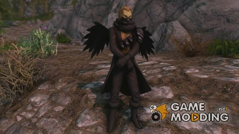 Black Swordsman Armor для TES V Skyrim