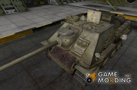 Ремоделинг для СУ-100 для World of Tanks