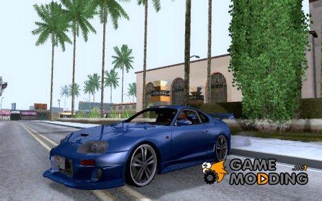 Toyota supra Da Luck для GTA San Andreas