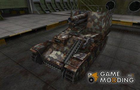 Горный камуфляж для Grille for World of Tanks
