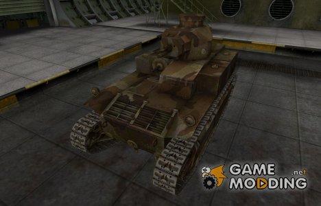 Шкурка для американского танка T2 Medium Tank для World of Tanks