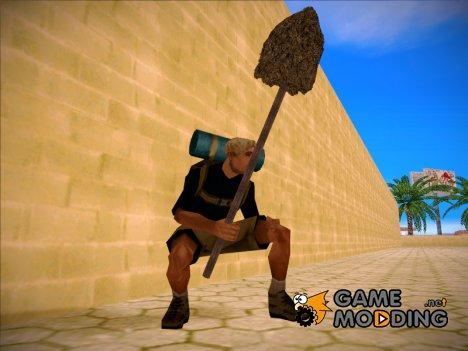Труба с бетоном для GTA San Andreas
