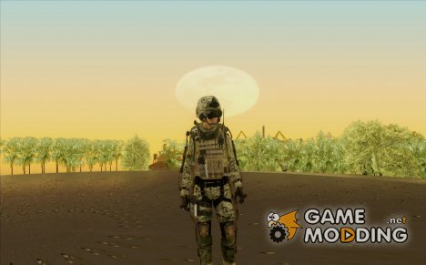 CoD AW US Marine Assault v4 Head D для GTA San Andreas