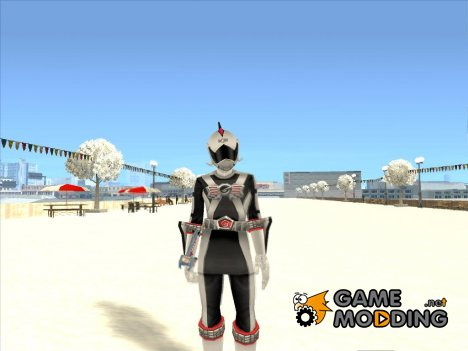Power Rangers RPM Silver for GTA San Andreas