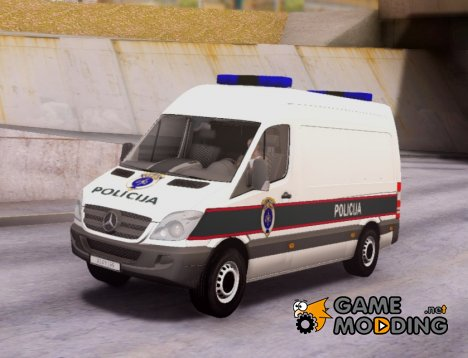 Mercedes Sprinter - BIH Police Van for GTA San Andreas