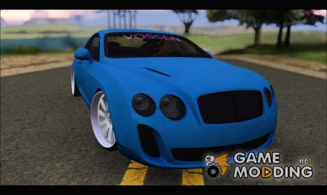 Bentley Continental Supersport VIP Stance для GTA San Andreas