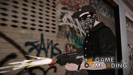 GTA 5 Online Smuggler DLC Skin для GTA San Andreas