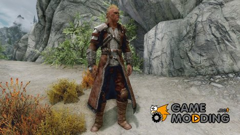 Steel Dragon Longcoat для TES V Skyrim
