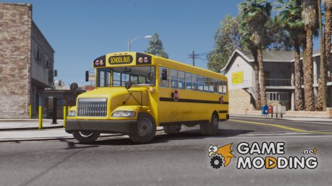 Caisson Elementary C School Bus for GTA 5