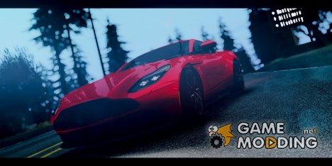 Aston Martin DB11 2017 for GTA San Andreas