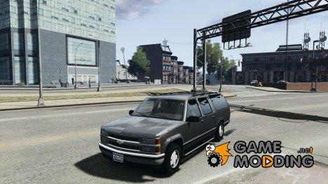 Chevrolet Suburban GMT400 v1.1 for GTA 4