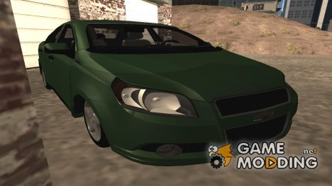 Chevrolet Aveo Sedan 2012 для GTA San Andreas