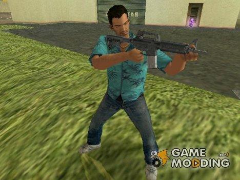 M4 из Max Payne 2 for GTA Vice City