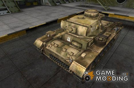 Шкурка для Pz III for World of Tanks